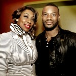 Faatemah & Tyson Beckford on the panel of Target Black Style Event