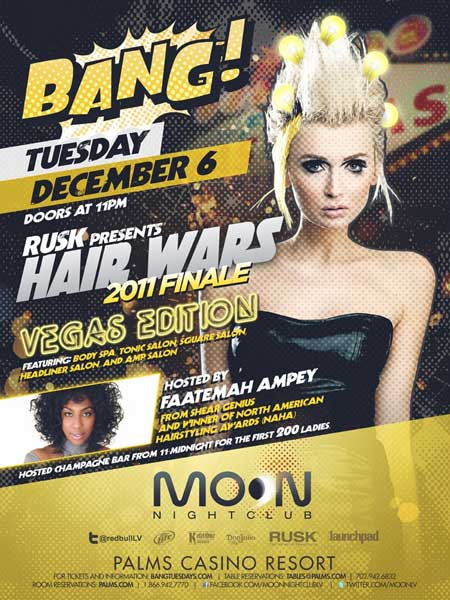 Faatemah To Host Hair Wars 2011 Finale Vegas Edition